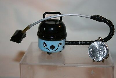 Miniature Dollhouse Canister Vacuum Cleaner w Happy Face 1:12 NR