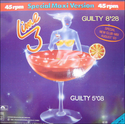 Lime Guilty (Special Maxi Version) Vinyl Single 12inch NEAR MINT Polydor