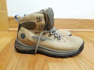 b573ae410339 Timberland Outdoor Performance hiking boots Tan Leather - Women s sz 7.5 M  EUC!