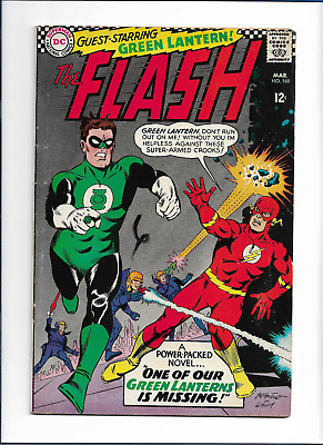 Flash #168 from March 1967  Green Lantern appearance