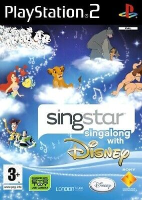 PS2 / Sony Playstation 2 - SingStar: Singalong with Disney ENGLISCH mit OVP