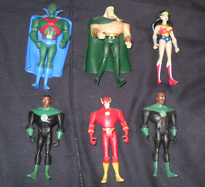 ** JUSTICE League UNLIMITED Loose  *** Wonder Woman Martian Flash Green Lantern