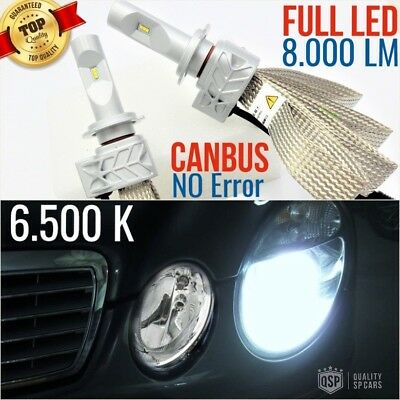 Set Lamps LED lights H7 Mercedes class E W211 amg LOW BEAM 6500K CANBUS