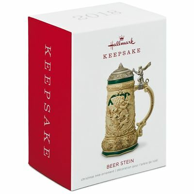 Hallmark Keepsake 2018 Beer Stein Ornament