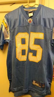 40a9d42fd40 Pre-Owned Nfl San Diego Chargers Antonio Gates #85 Reebok Jersey Youth Size  L