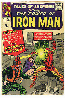 JERRY WEIST ESTATE: TALES OF SUSPENSE #56 (Marvel 1964) VG condition Iron Man