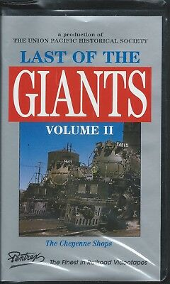 LAST OF THE GIANTS - VOLUME 2 - Union Pacific's CHEYENNE SHOPS   VHS Video
