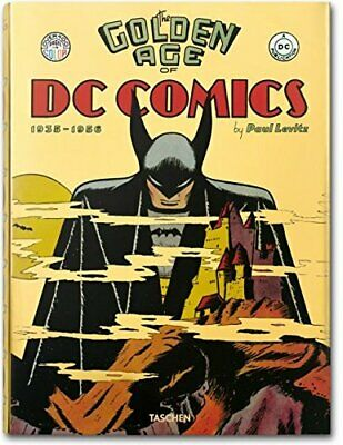 The Golden Age of DC Comics (Bibliotheca Universalis) by Paul Levitz Book The