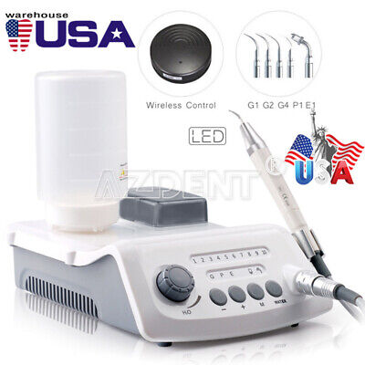 Dental VRN-A8 Wireless Control Ultrasonic Scaler with LED detachable handpiece