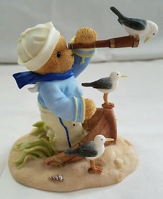 Cherished Teddies Bear Figurine Dillon I Spy Hope For The Future Sailor NIB
