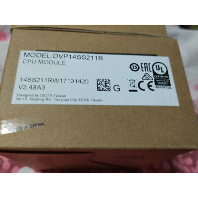 DVP14SS211R DELTA SS2 Series Standard PLC DI 8 DO 6 Relay