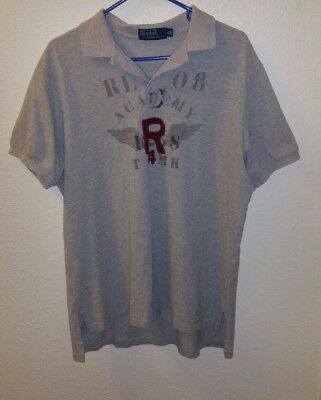 730f477d4ed ... coupon code for 2008 rare polo ralph lauren rugby size xl mens shirt  size wing academy