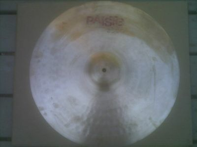 """3000 paiste 20"""" ride vintage rare made in the 80's only a few years"""