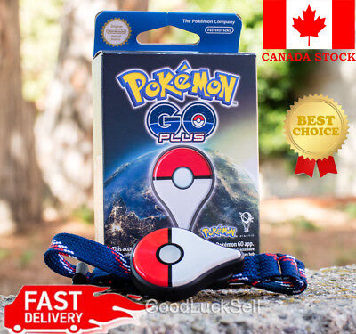 Nintendo Pokemon Bracelet Go Plus Device - Brand New Free Fast Shipping Canada
