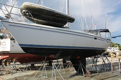 2005 Catalina 42 MkII Sail boat Clean Title LOW RESERVE project damaged 05