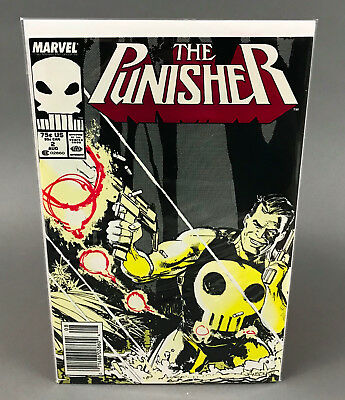 """The Punisher Volume 2 #2 """"Bolivia"""" August 1987"""