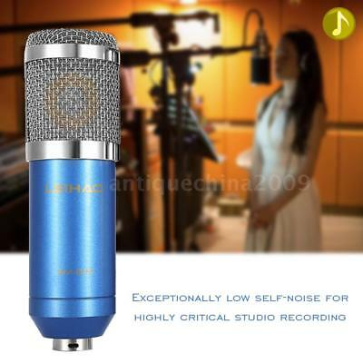 Studio Ktv Singing Broadcasting Recording Condenser Microphone Mic Equipment