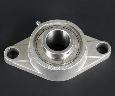 SUCFL201 to SUCFL206 Flanged Bracket Mounted Ball Bearing 12-30mm Bore Select