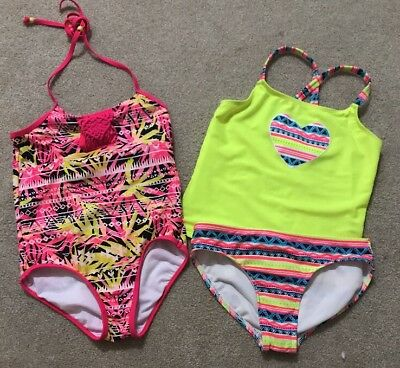 b8084eaf6a LANDS' END GIRL'S One-Piece Swim Suit Size 7 - $1.99 | PicClick