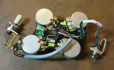 2019 GIBSON USA SG Standard WIRING harness solderless QUICK CONNECT on les paul wiring harness, gibson sg pickguard, gibson sg tailpiece, fender stratocaster wiring harness,