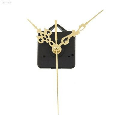 Clock Movements Mechanism Parts Making  Watch Tools with Gold Hands Quiet D2A6