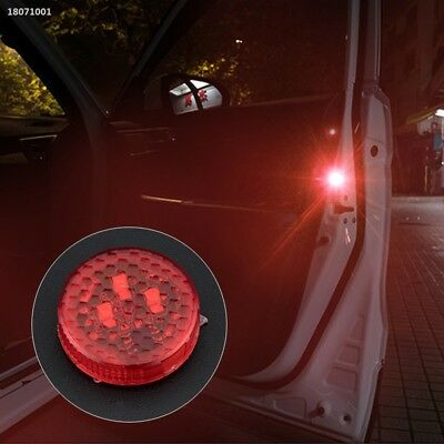 Anti-Rear-End Lights Security Warning Light Led Red Light Size: 3 * 3 * 1cm 7A0A