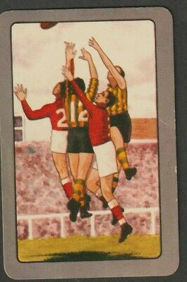 VINTAGE 1950's COLES FOOTBALLERS SWAP CARD. GOOD CONDITION AND SCARCE.