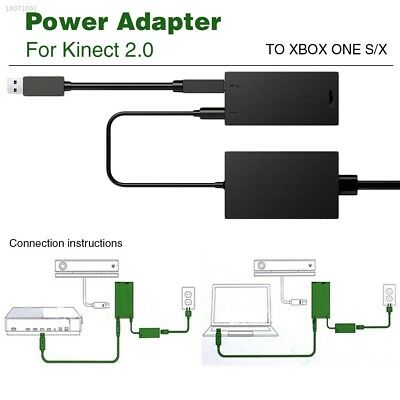 KINECT V2 WITH ADAPTER FOR XBOX ONE S , X & PC Development & Win 8 8.1 10 E66C