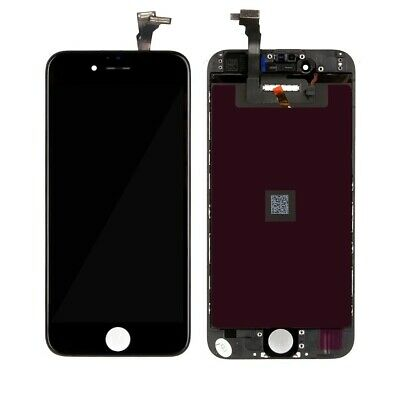 Original Apple iPhone 6 Display Retina LCD vormontiert in schwarz refurbished