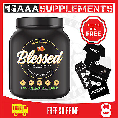 EHP Labs   Blessed 100% PLANT-BASED Vegan PROTEIN   1lb CLEAR VEGAN PEA ISOLATE