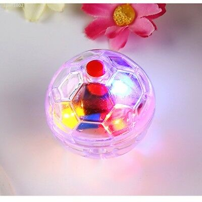 Plastic Pet Cat Kitten Light Up Flashing Ball Interactive Toy Moving Funny 325D