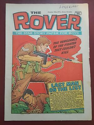 The Rover Comic - October 30th 1971 - The Star Story Paper for Boys #B2158