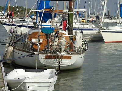 Cheoy Lee offshore 36 classic blue water sailing yacht
