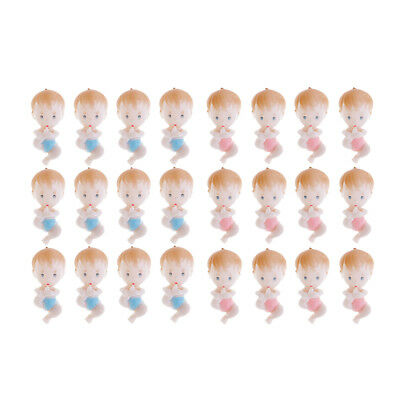24pcs Cute Mini Babies Foot Baby Shower Gender Reveal Gift Favor Table Decor