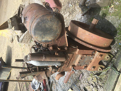 Ruston stationary engine