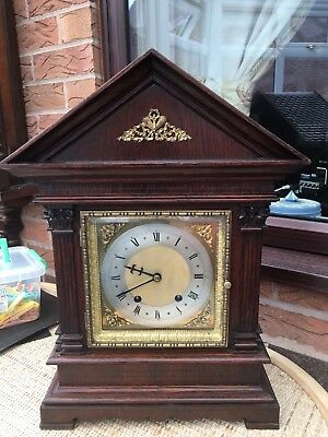 Antique  Unstamped  Very Large W&h Ting Tang Bracket Clock