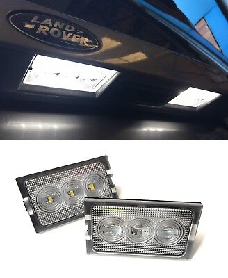 Land Rover Discovery 3 & 4 New Led License Number Plate Lamp Lights & Bulbs (X2)