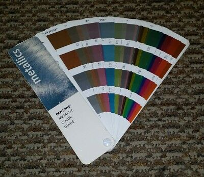 Pantone Metallics Reference Manual Color Guide