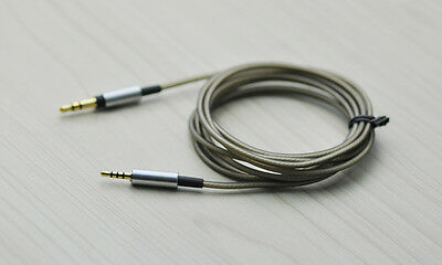 Replace Silver Plated Audio Cable For JBL EVEREST 310GA 710GA Wireless Headphone