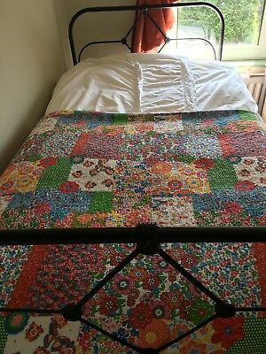 Cast Iron Victorian Bed REDUCED QUICK SALE