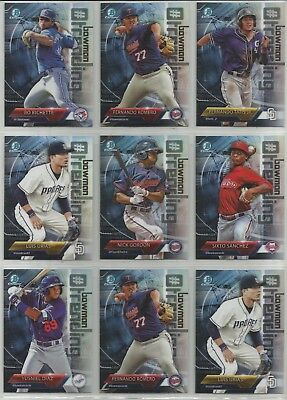 2018 Bowman Chrome #Trending Inserts COMPLETE YOUR SET- YOU PICK FROM LIST NM/MT