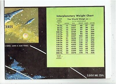 Rand McNALLY Universal Map Outer Space - Not Boarded