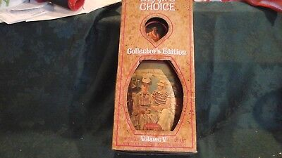 Vintage Jim Beam's Choice Vol. V Collector's Edition Decanter