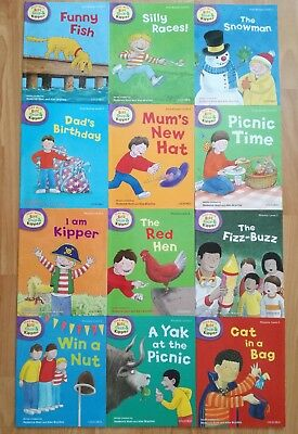 Read with Biff, Chip and Kipper Level 2 (12 Books)