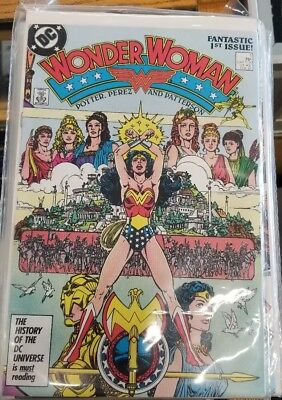 Wonder Woman Lot 0f 50 + issues never removed from bags mint condition 5