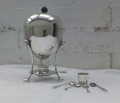 Antique Walker & Hall Sheffield Silver Plate Egg Coddler Boiler c.1910 - c.1920