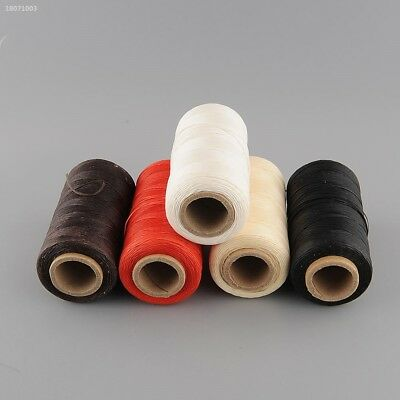 260Meter 1mm 150D Leather Flat Wax Thread Cord Craft for DIY Tool Stitching 469D