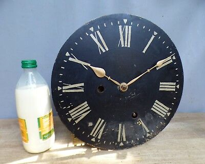 A Good Clean 8 Day Commercial Long Case Clock Movement * Stripped And Cleaned *