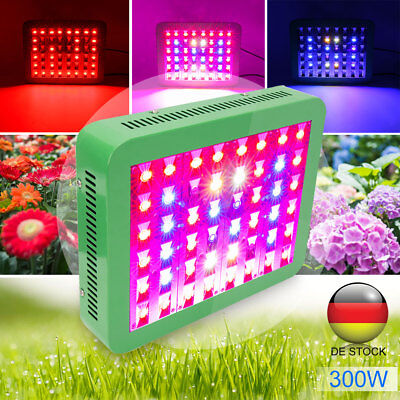 Newest 300W LED Grow Light Full Spectrum48LEDs ForIndoor Plant Hydroponic System
