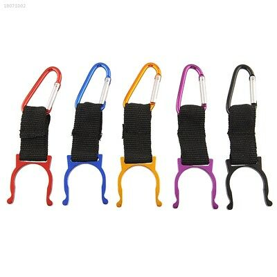 5pcs Carabiner Water Bottle Buckle Hook Holder Clip Camping Outdoor Useful A728